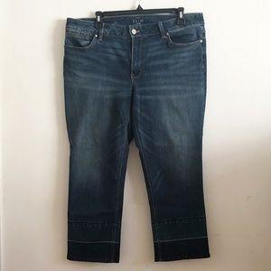 WHBM The Slim Crop Jeans